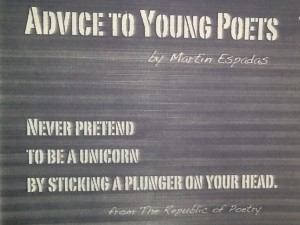 Advice to Young Poets