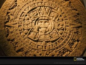 Aztec Sun Dial