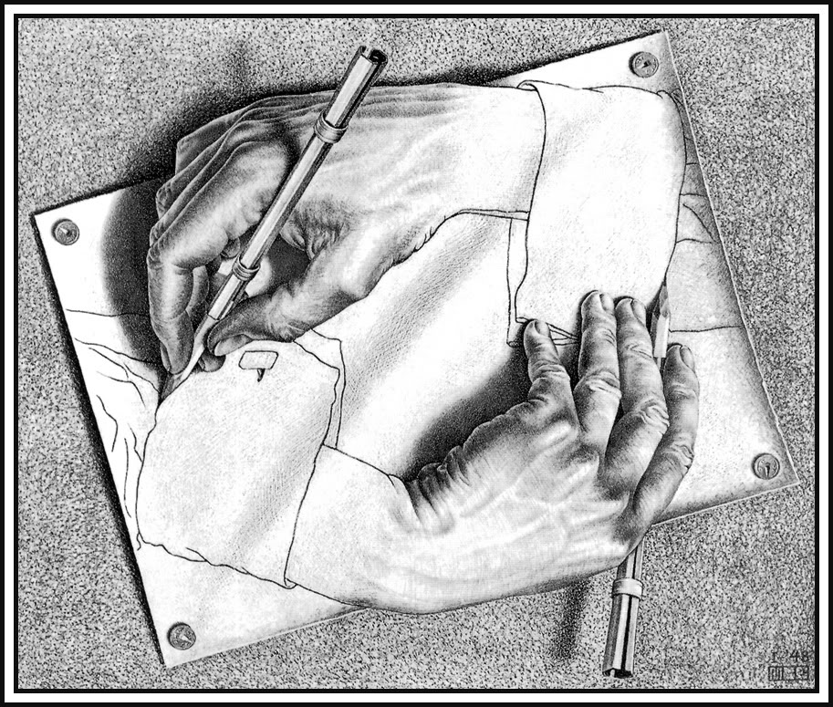 MCEscher-DrawingHands